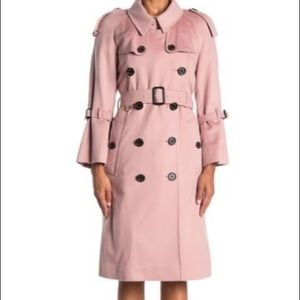 Burberry lakestone double breasted cashmere coat